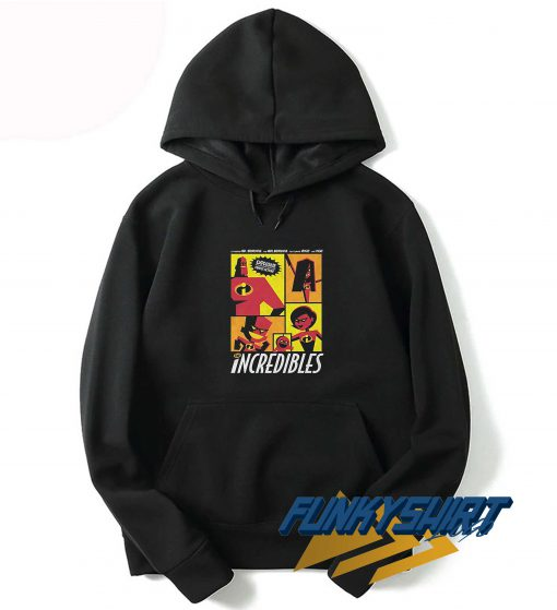 The Incredibles Explosive Family Hoodie