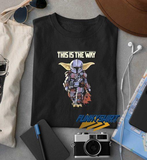 The Mandalorian Baby Yoda t shirt