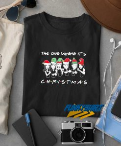 The One Where Its Merry Christmas t shirt