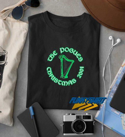 The Pogues 2001 Christmas t shirt