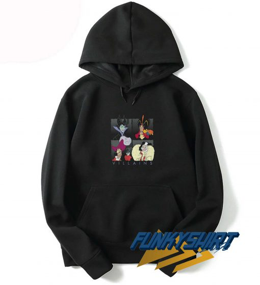 The Villains Classic Cartoon Hoodie