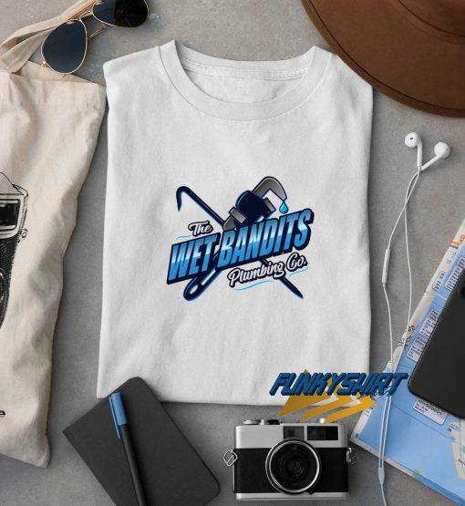 The Wet Bandits Plumbing t shirt