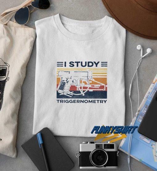 Vintage I Study Triggernometry t shirt