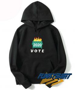 Vote Dumpster Fire 2020 Hoodie
