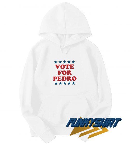 Vote For Pedro Star Logo Hoodie