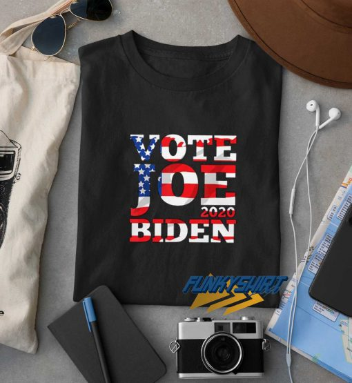 Vote Joe Biden 2020 Flag t shirt