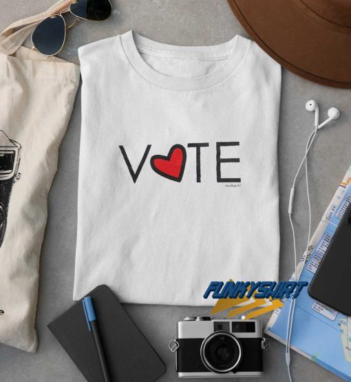 Vote Love Graphic t shirt