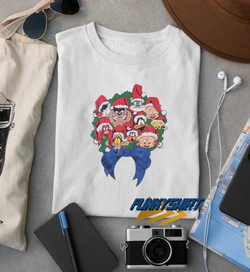 Warner Bros Taz Christmas t shirt