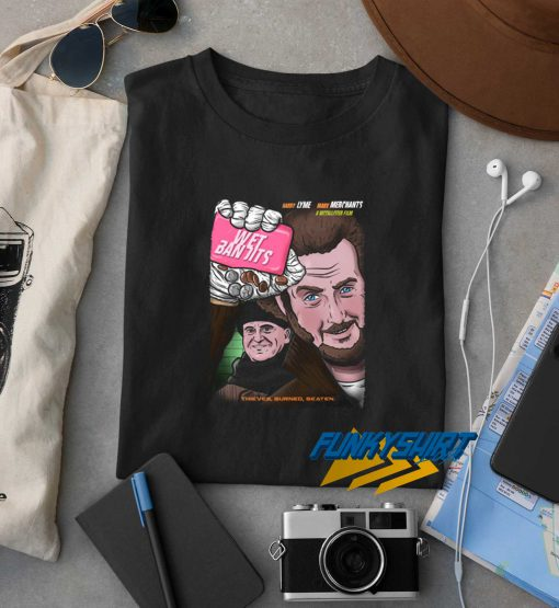 Wet Bandits Club t shirt