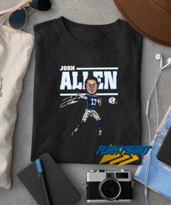 17 Josh Allen t shirt