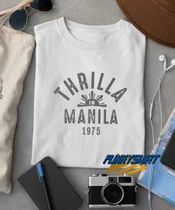 1975 Thrilla In Manila t shirt