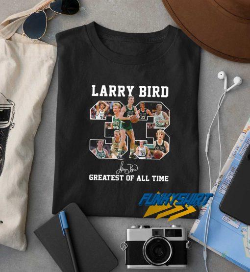 33 Larry Bird t shirt