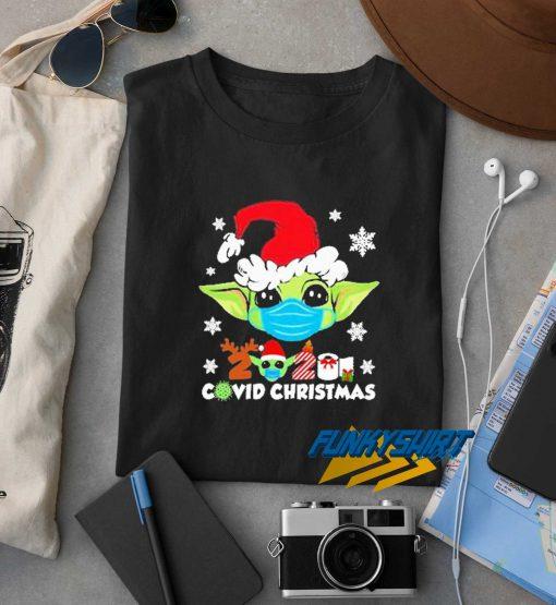 Baby Yoda 2020 Covid Xmas t shirt