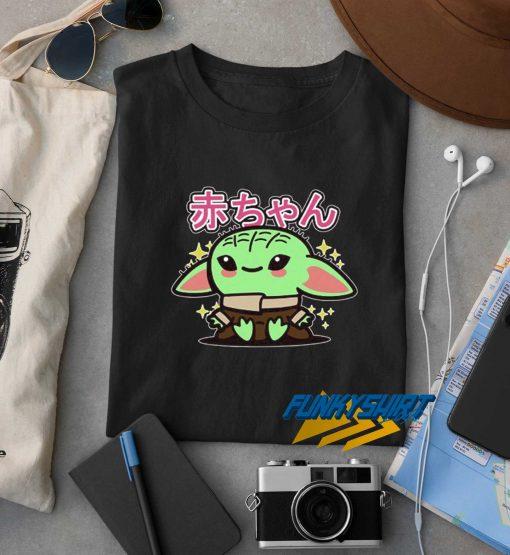 Baby Yoda Japanese t shirt