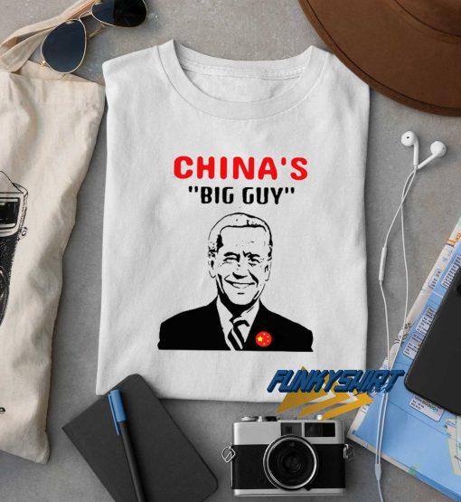 Biden Is Chinas Big Guy t shirt