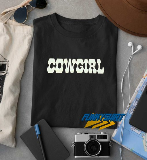 Cowgirl Letter t shirt