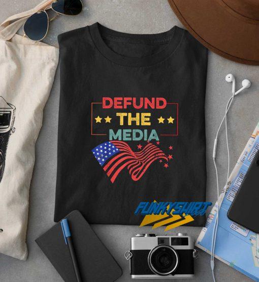 Defund The Media Vintage t shirt