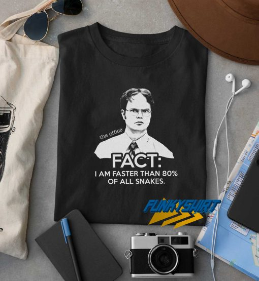 Dwight Schrute Fact The Office t shirt