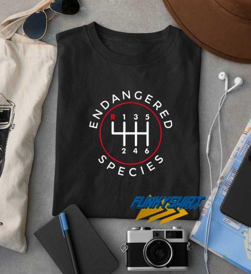 Endangered Species t shirt