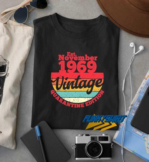 Est November 1969 Vintage t shirt
