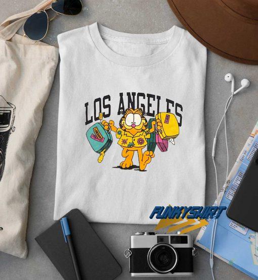 Garfield Los Angeles t shirt