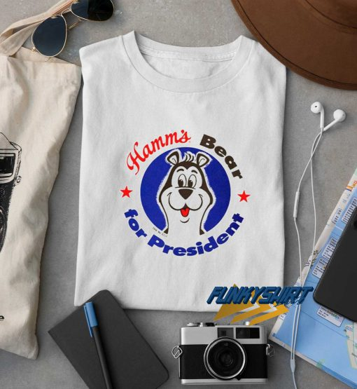 Hamms Bear For President t shirt