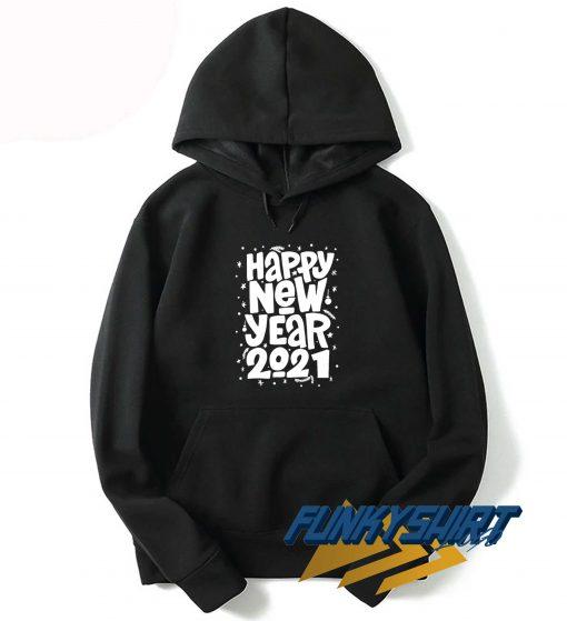 Happy New Year 2021 Logo Hoodie