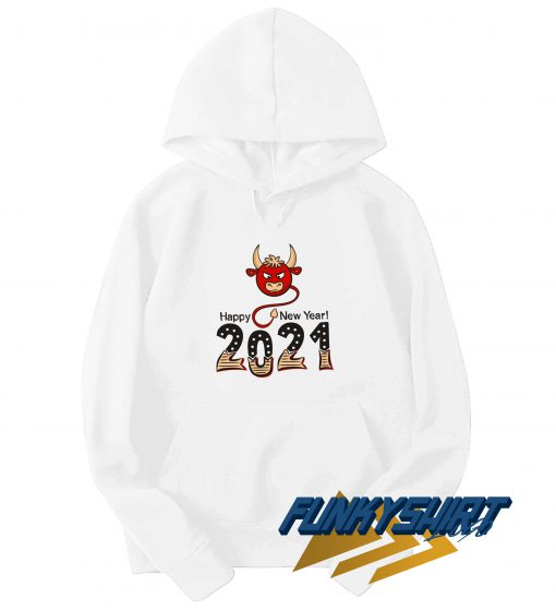 Happy New Year 2021 Ox Cow Hoodie