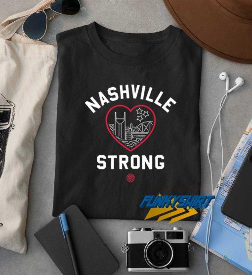 Heart Nashville Strong t shirt