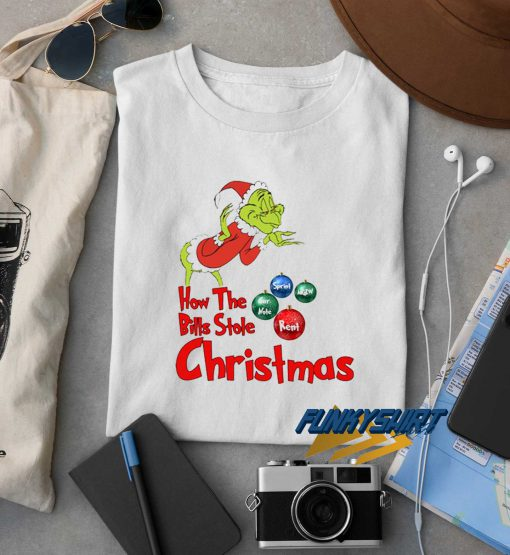 How The Bills Stole Christmas t shirt