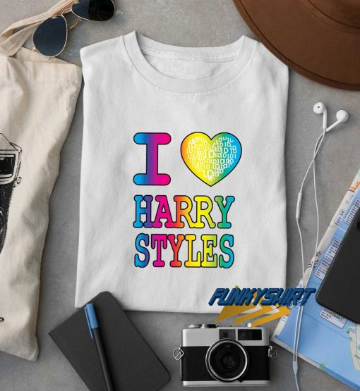 I Love Harry Styles Rainbow t shirt