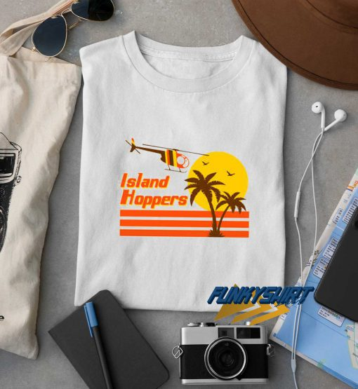 Island Hoppers Retro t shirt