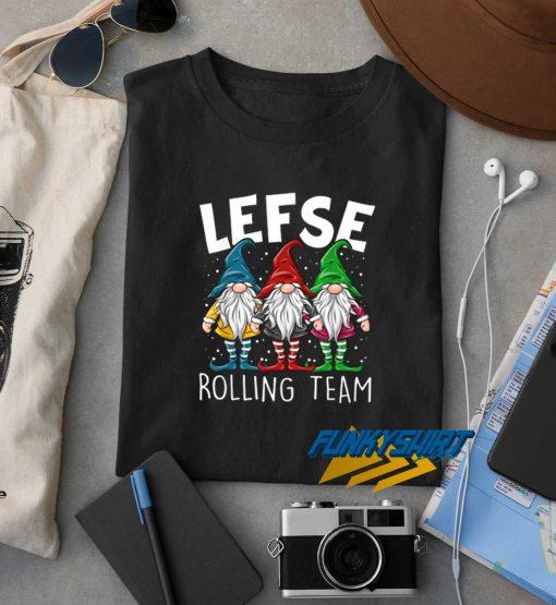 Lefse Making Team Gnome t shirt