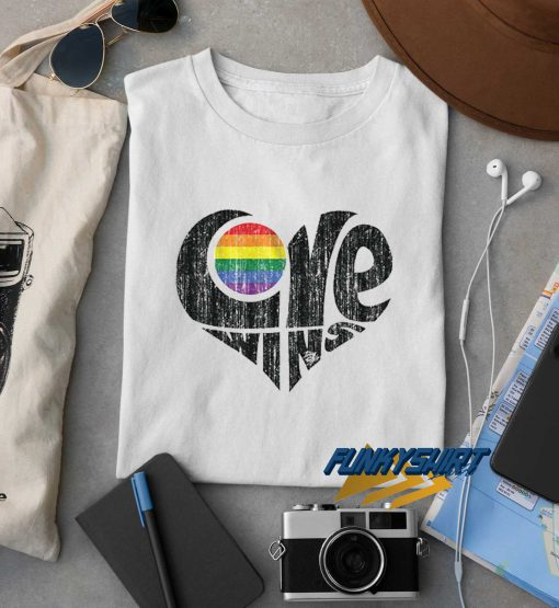 Love Wins Graphic t shirt