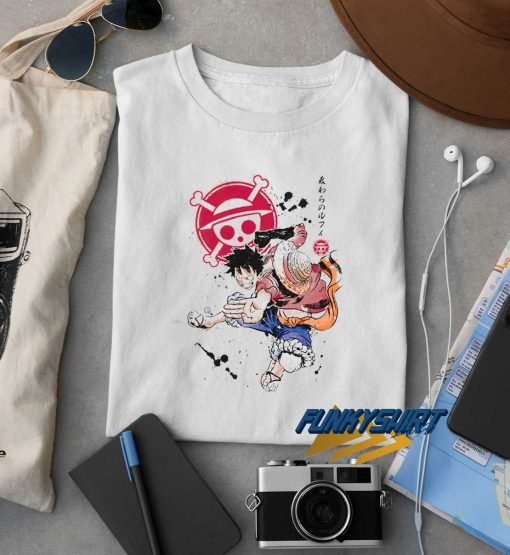 Luffy Character One Piece t shirt