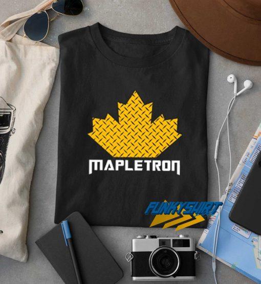 Mapletron Waffle t shirt