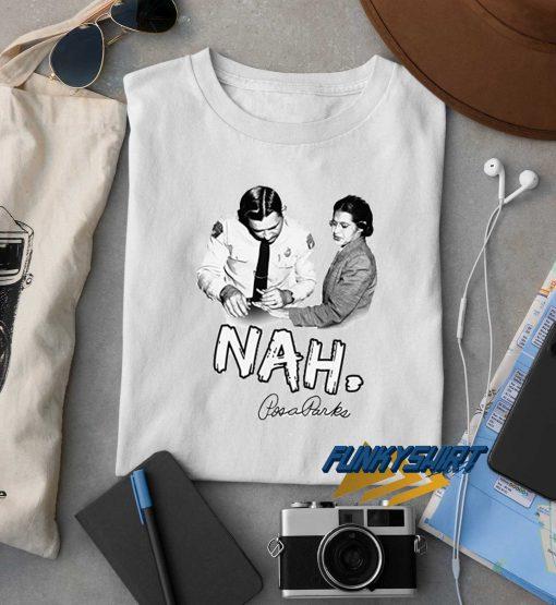 NAH Rosa Parks N Police t shirt