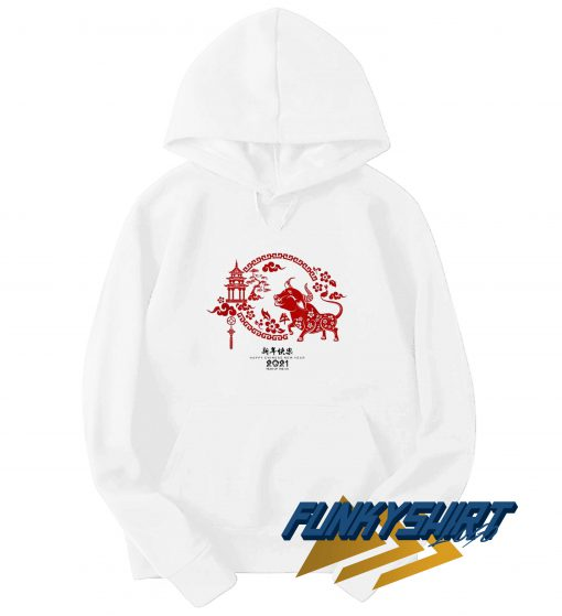 New Year 2021 Year Of The Ox Hoodie