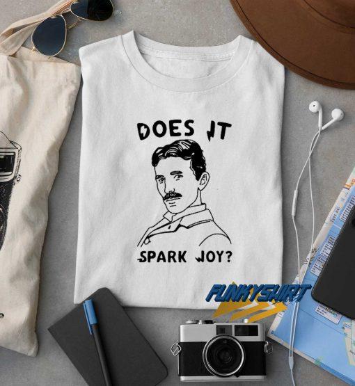 Nikola Does It Spark Joy t shirt