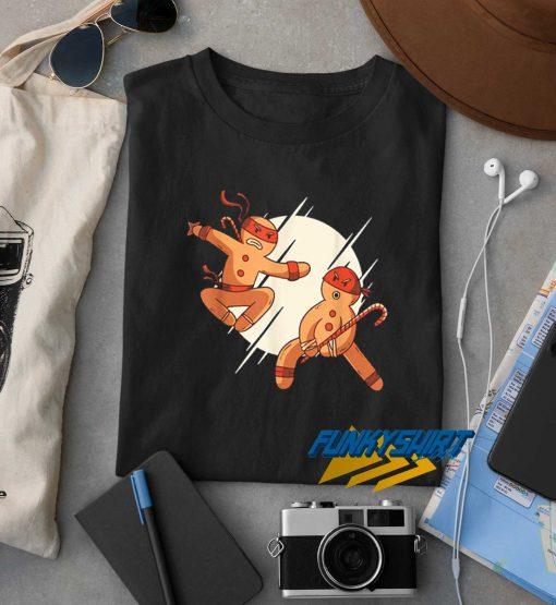 Ninja Bread Man t shirt