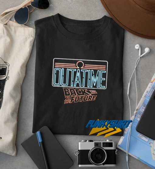 Outatime Back To The Future t shirt