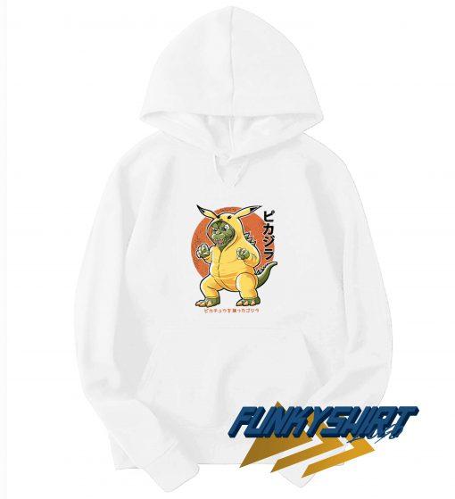 Pikazilla Pokemon Japanese Hoodie