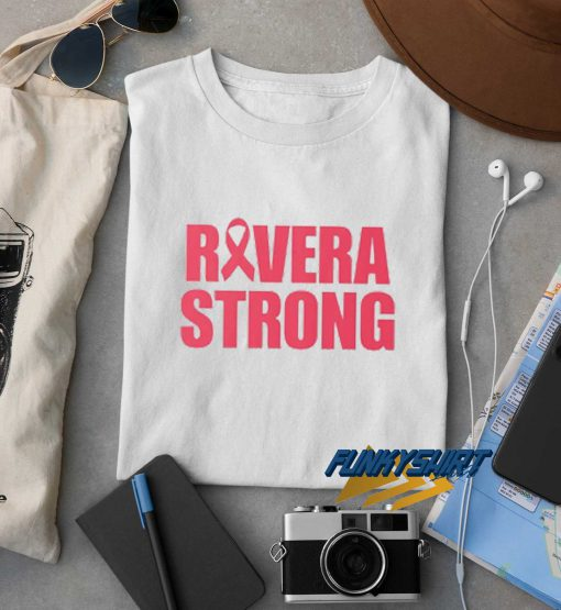 Rivera Strong Letter t shirt