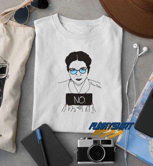 Rosa Parks No Graphic t shirt
