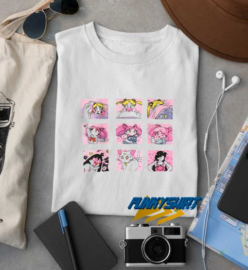Sailor Moon Grid t shirt