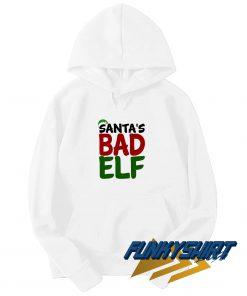 Santas Bad Elf Graphic Hoodie