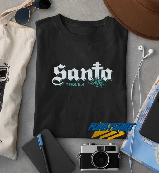 Santo Tequila Logo t shirt