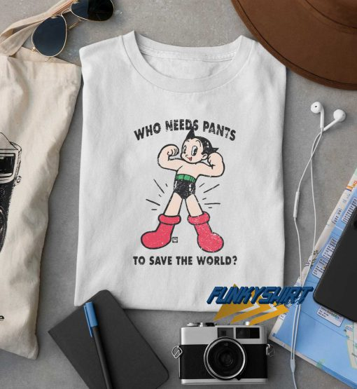Save The World Astro Boy t shirt