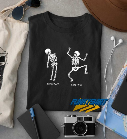 Skeletoff And Skeleton t shirt