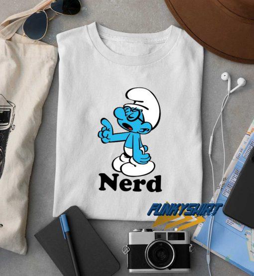 Smurf Nerd t shirt